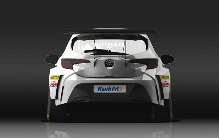 Toyota British Touring Car rear