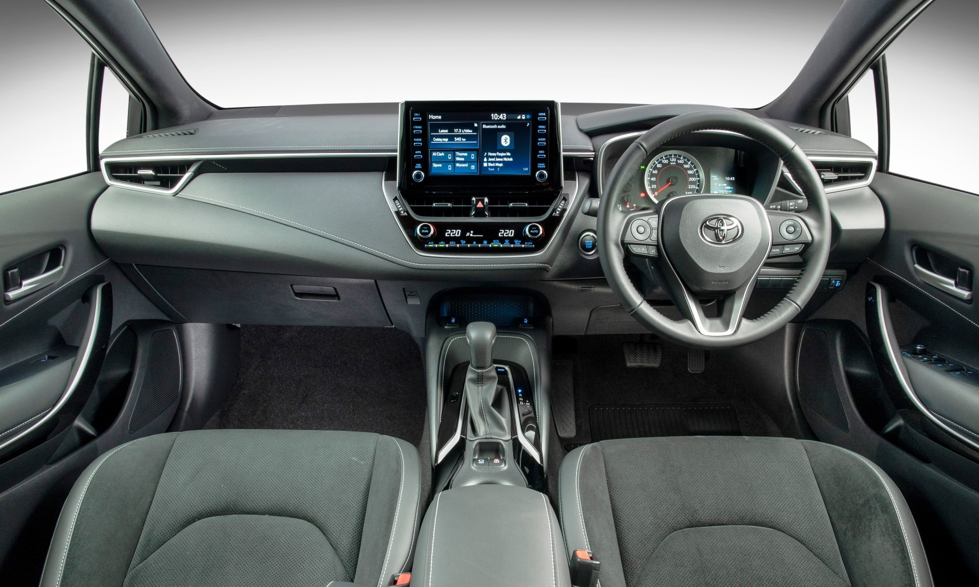 Toyota Corolla Hatch interior