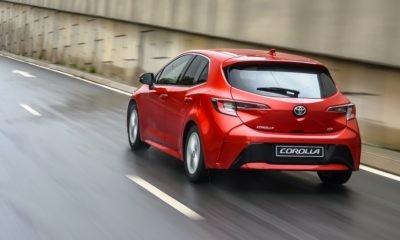 Toyota Corolla Hatch rear