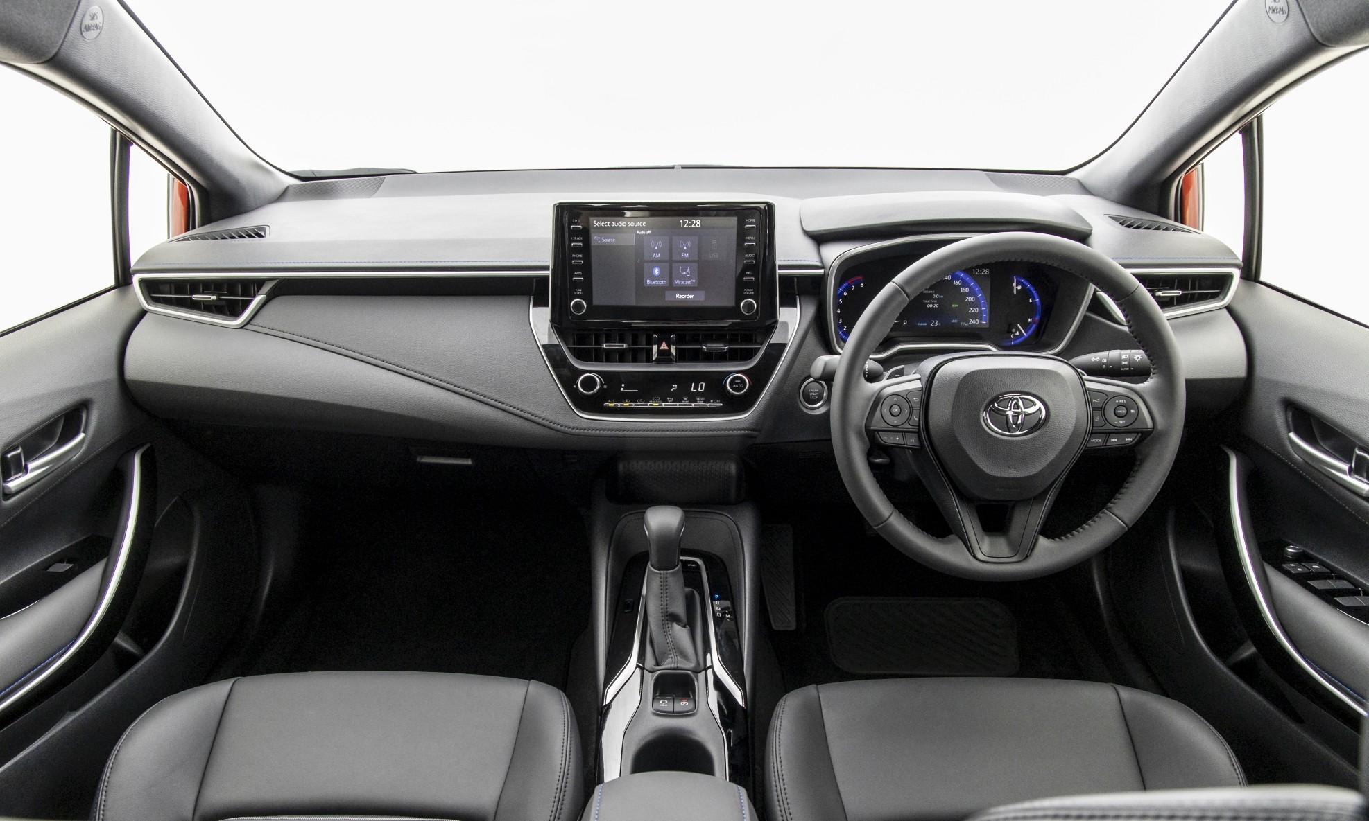 New Toyota Corolla dashboard