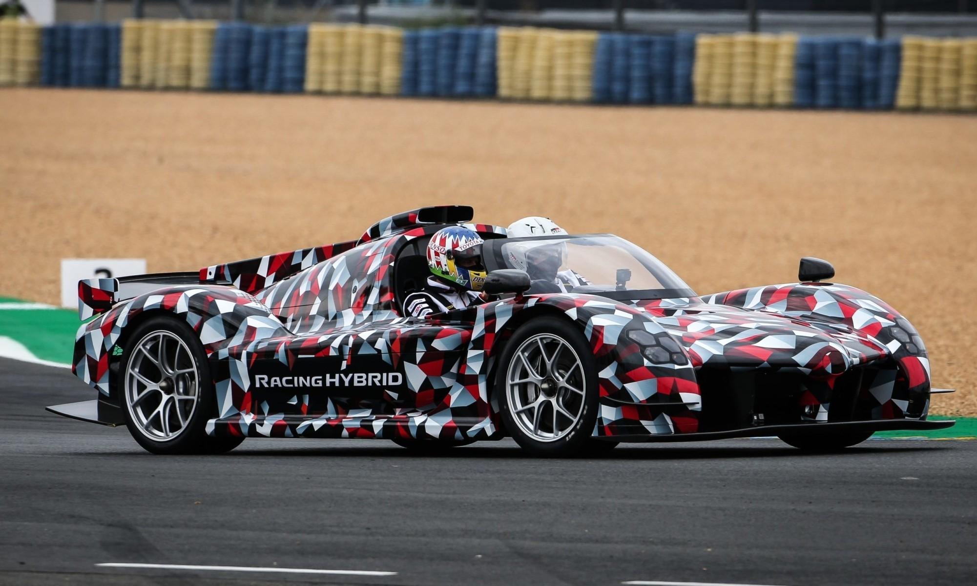 Toyota GR Super Sport debuts track