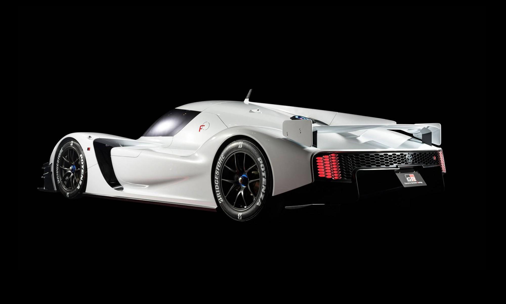 Toyota GR Super Sport rear