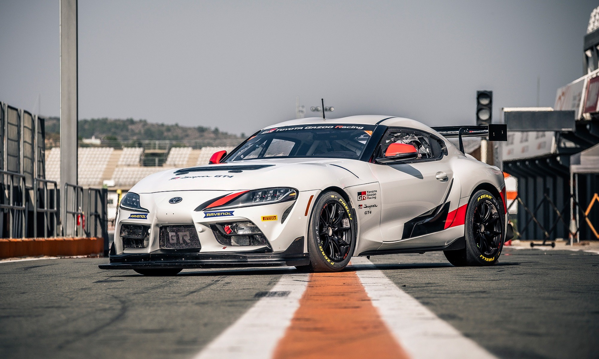 Toyota GR Supra GT4 front