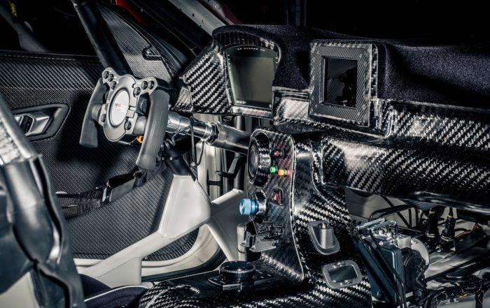 Toyota GR Supra GT4 interior