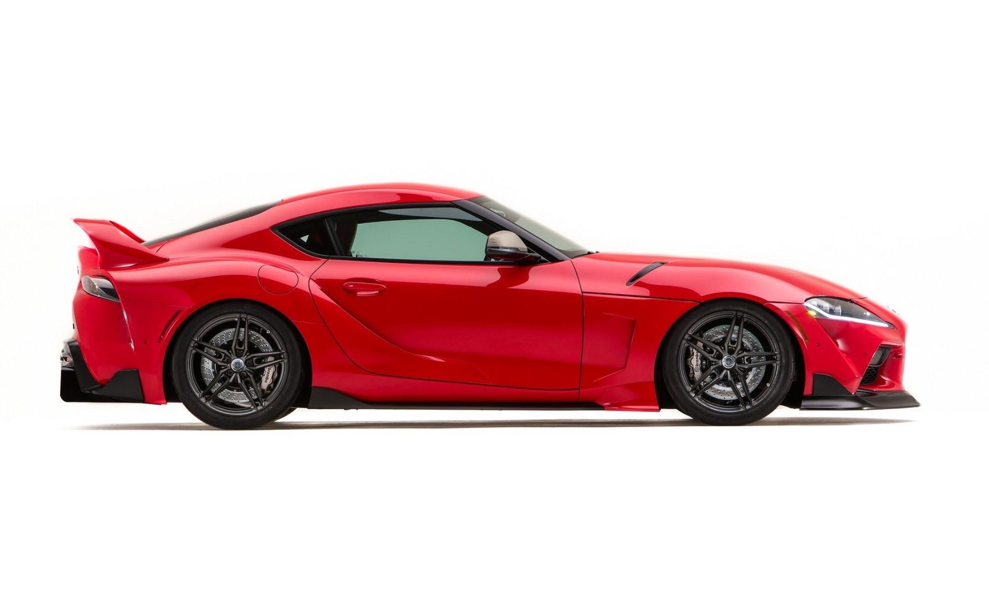 Toyota GR Supra Heritage Edition profile