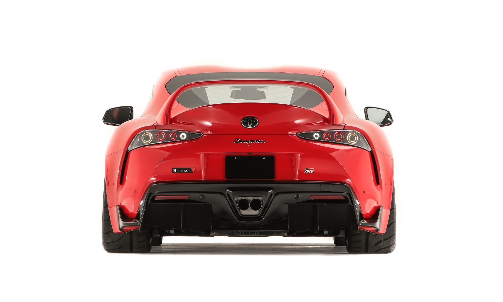 Toyota GR Supra Heritage Edition rear wing