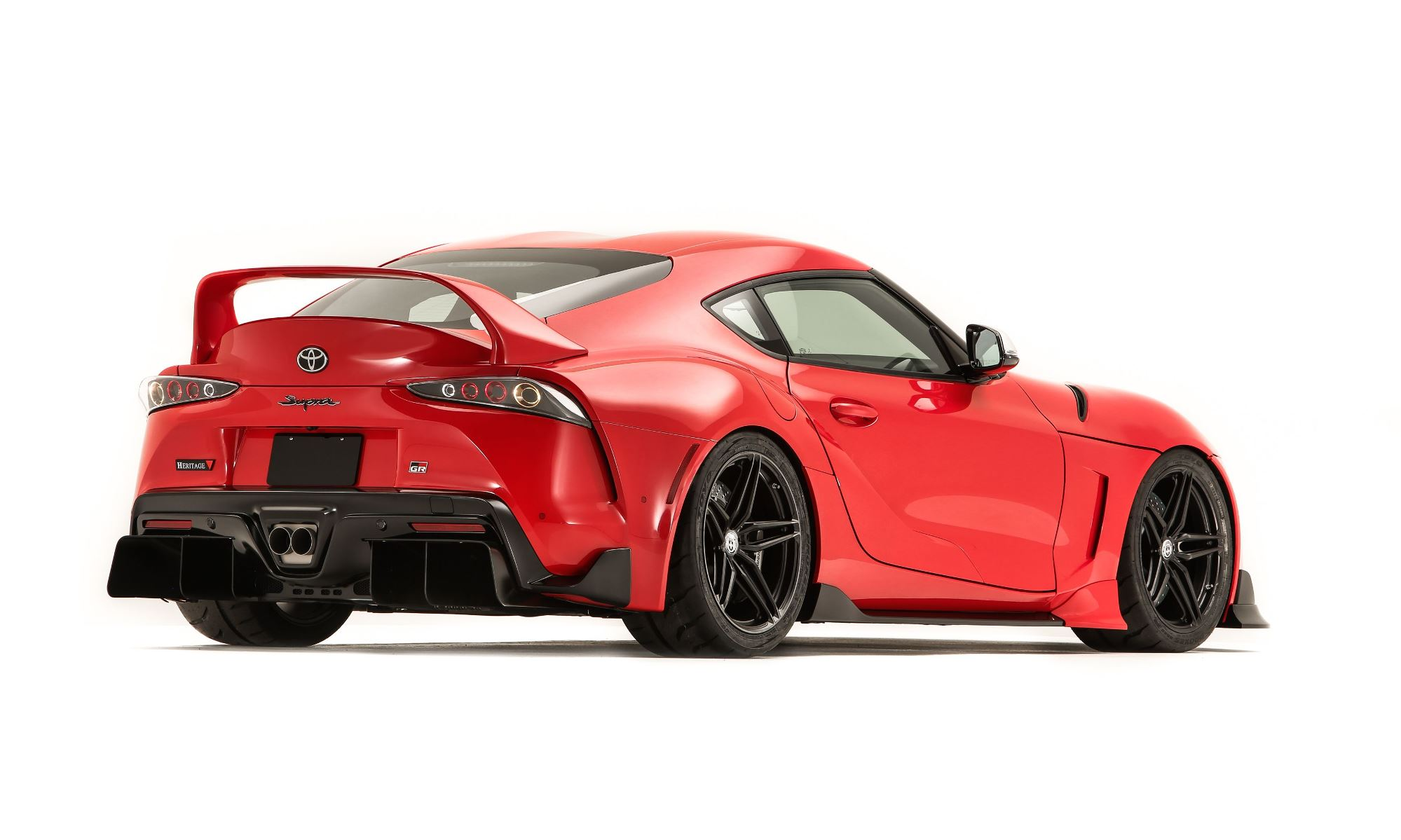 Toyota GR Supra Heritage Edition rear