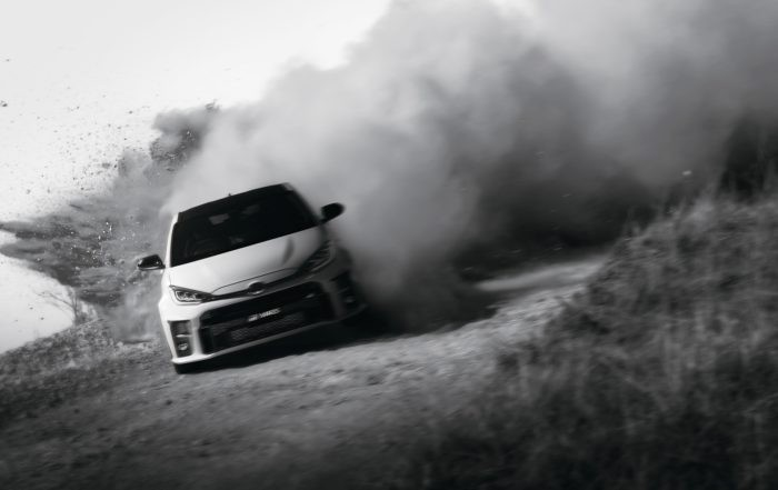 Toyota GR Yaris action