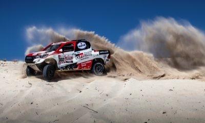 Toyota Gazoo Racing Dakar Team 2019