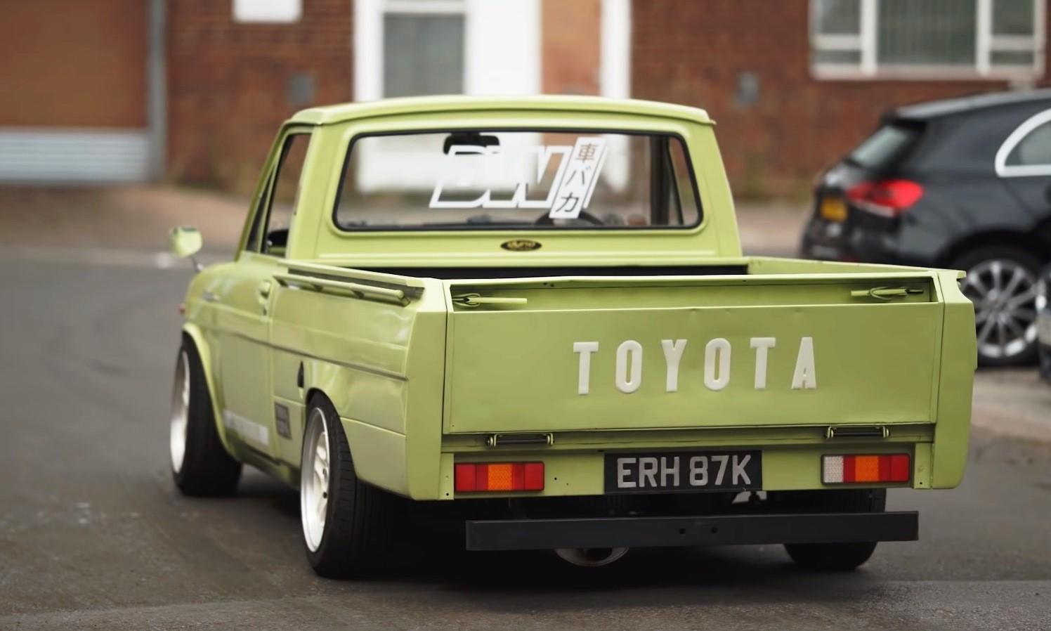 Toyota Hilux Drift Truck rear