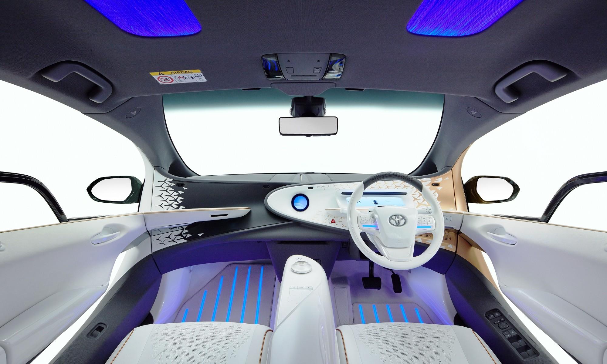 Toyota LQ interior