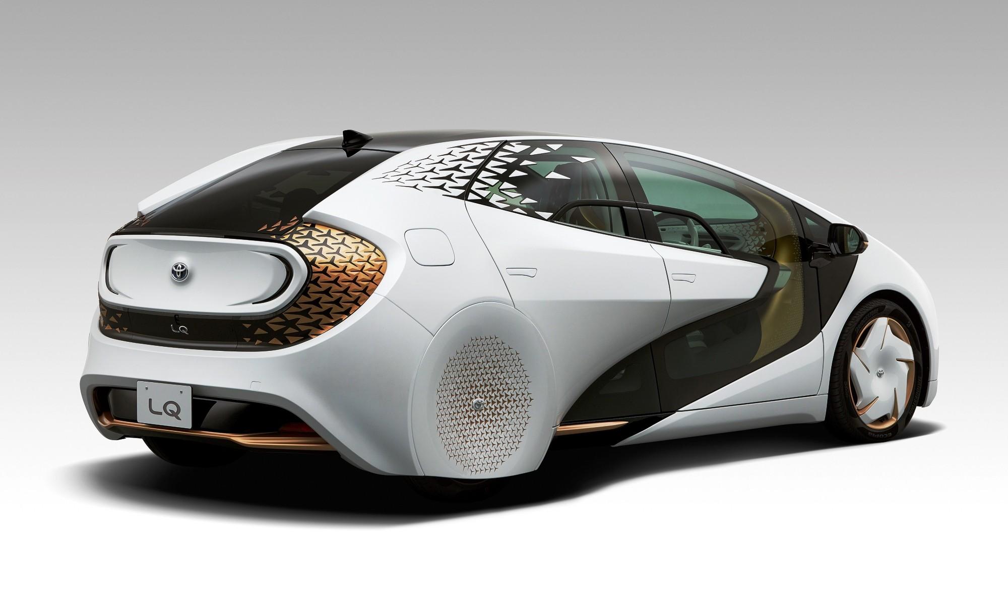 Toyota LQ rear