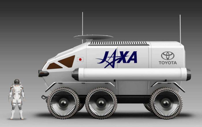 Toyota Lunar Rover profile