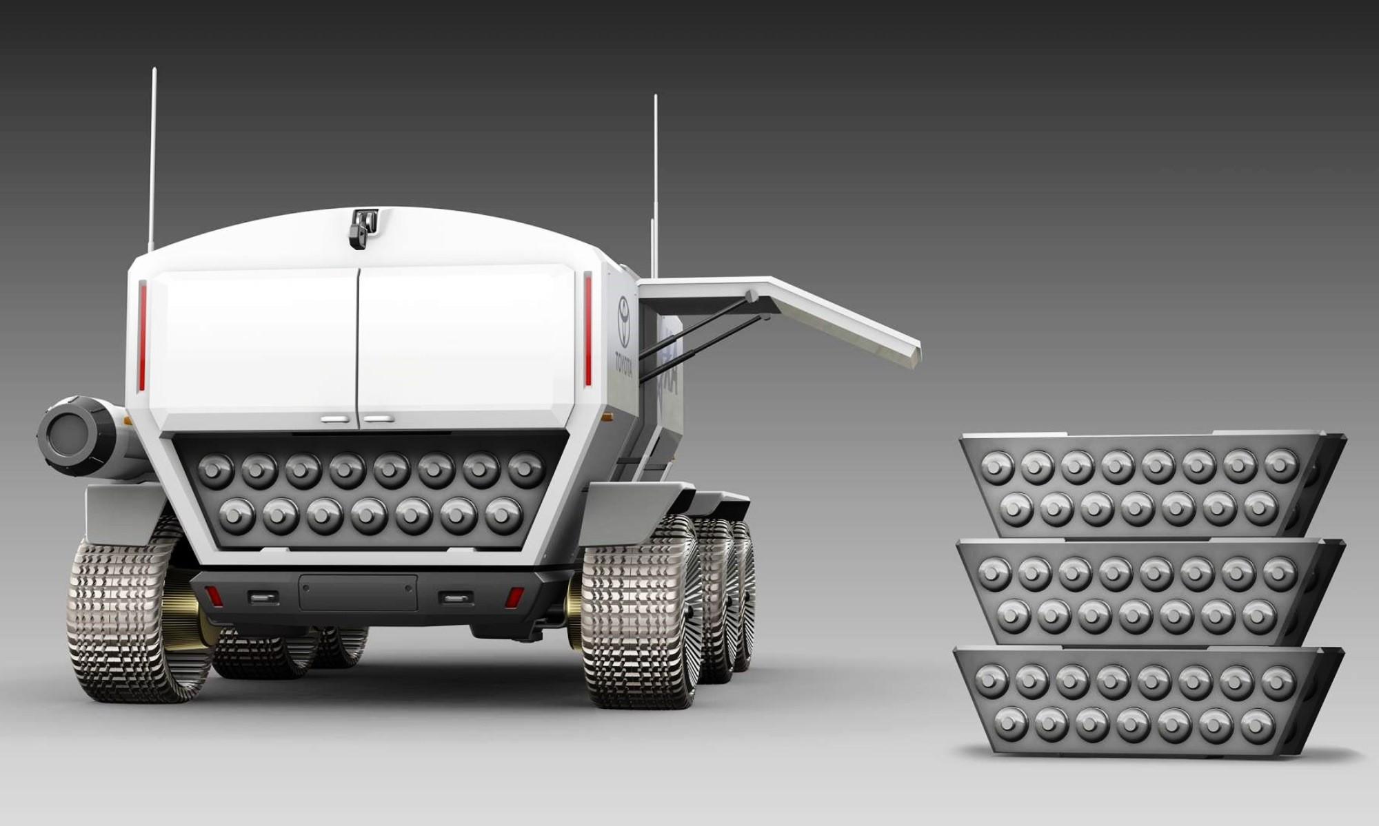 Toyota Lunar Rover rear