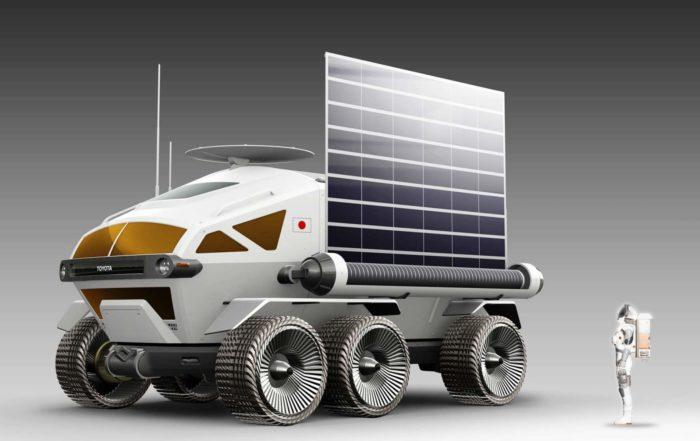 Toyota Lunar Rover solar panel