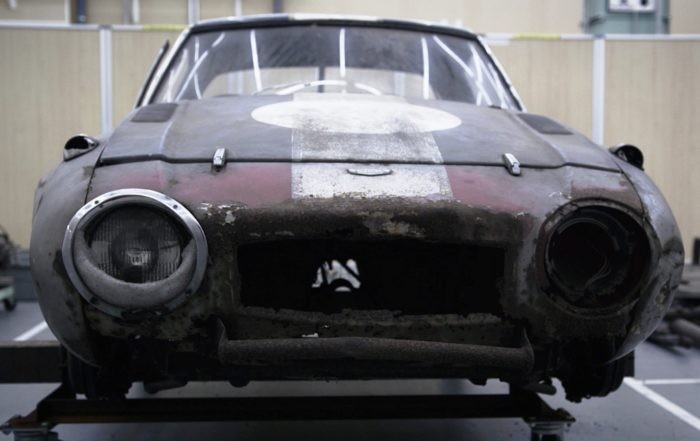 Toyota Sports 800 GR Concept before restoration