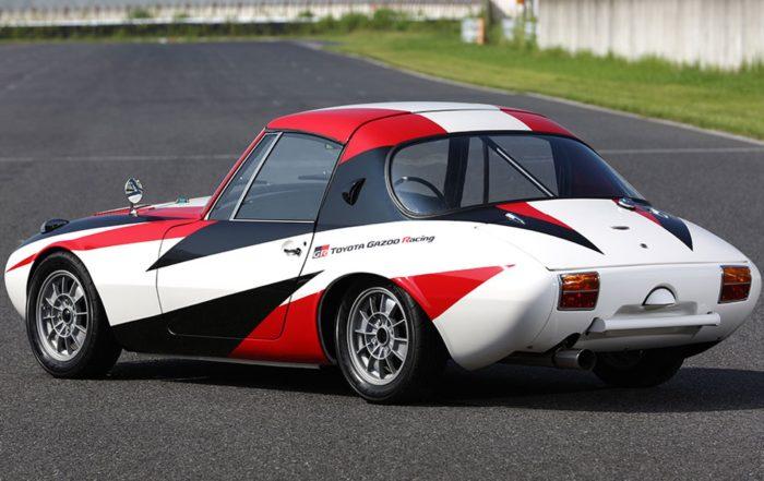 Toyota Sports 800 GR Concept rear