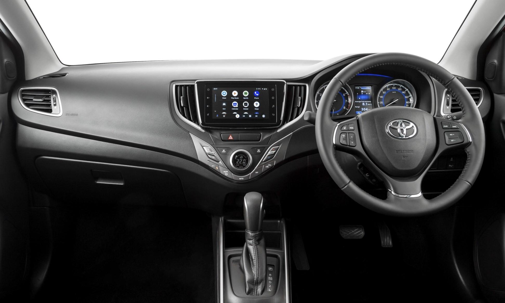 Toyota Starlet interior