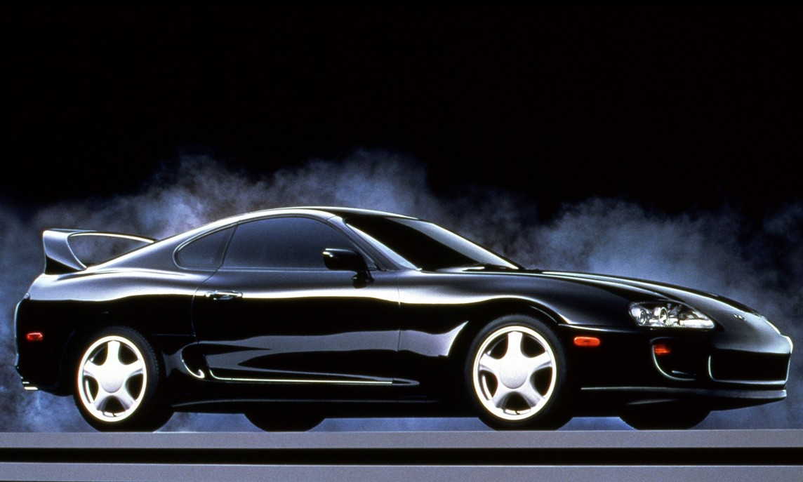 Toyota Supra A80 fourth generation