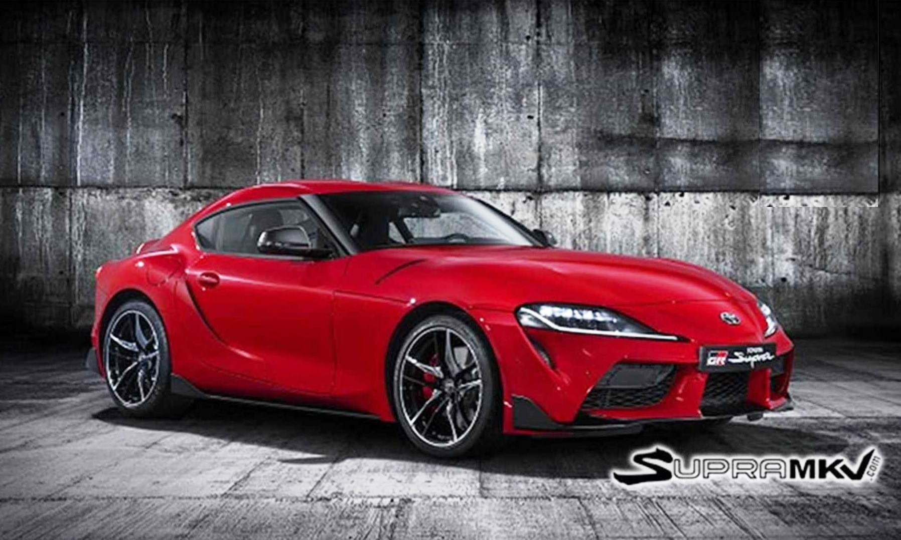 Toyota Supra images leaked