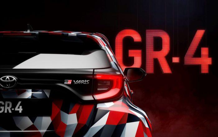 Toyota Yaris GR-4 teased