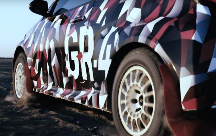Toyota Yaris GR-4 launch