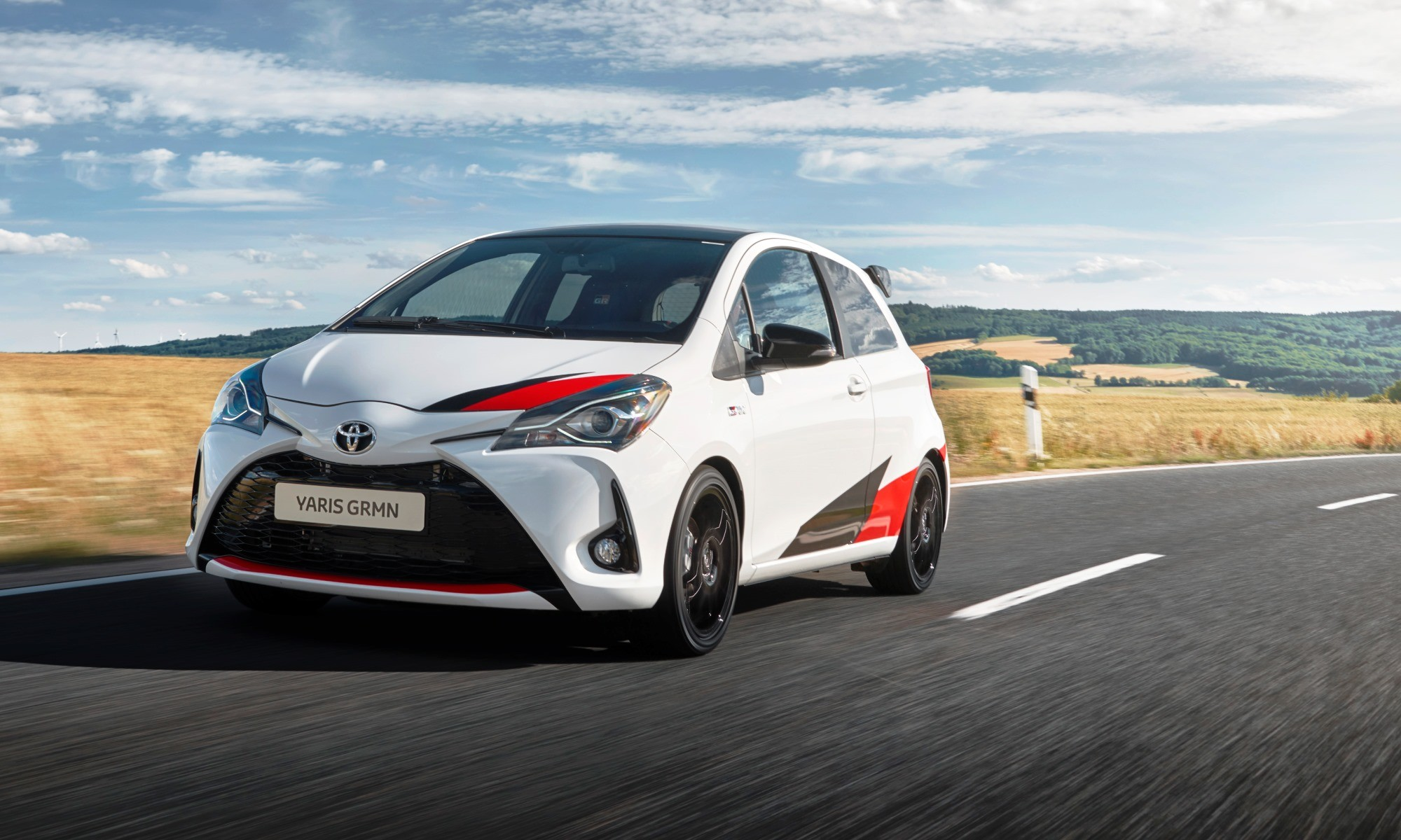 Toyota Yaris GRMN driven
