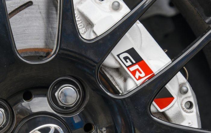 Toyota Yaris GRMN four-pot brakes