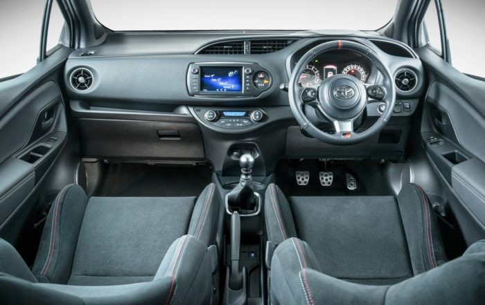Toyota Yaris GRMN interior