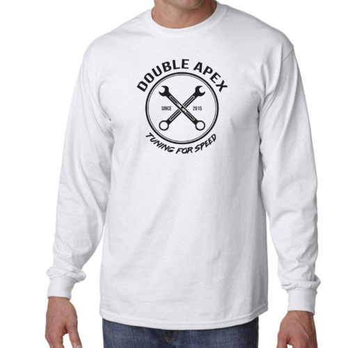 Double Apex Tuning for Speed long sleeve car T-shirt