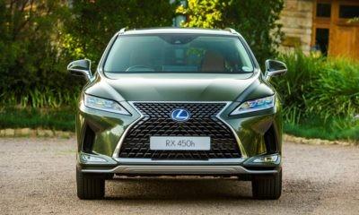Updated Lexus RX range front