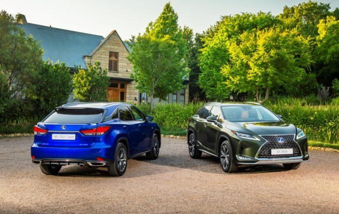 Updated Lexus RX range