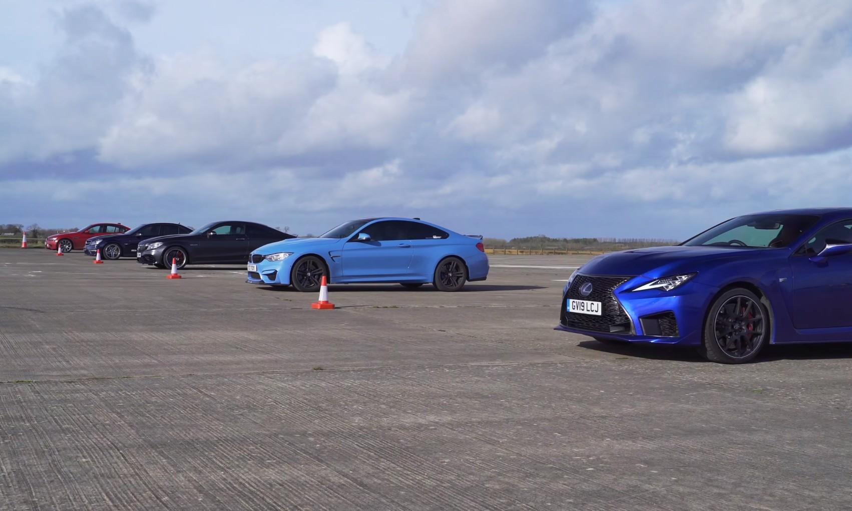 V8 Drag Race
