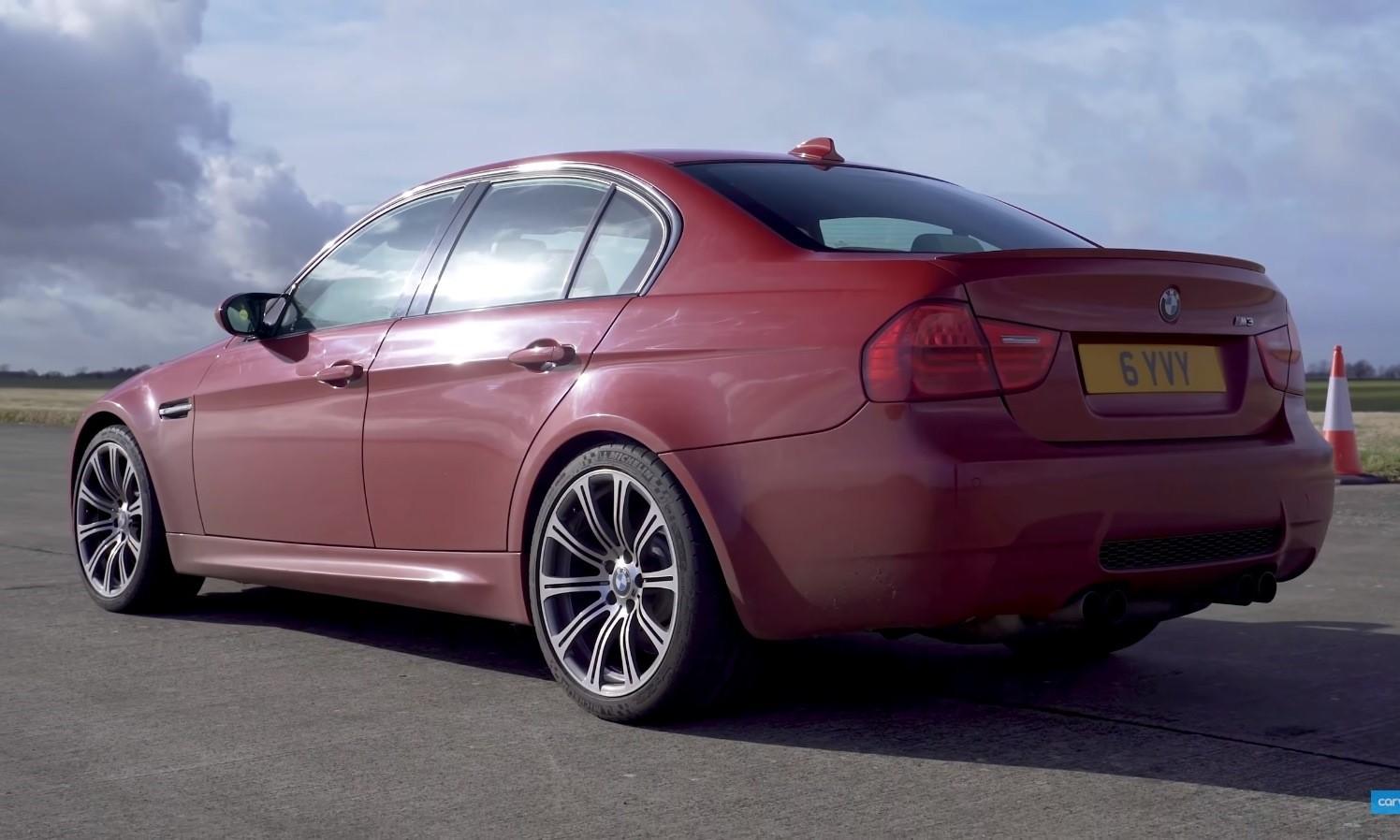 V8 Family Car Drag Race Audi