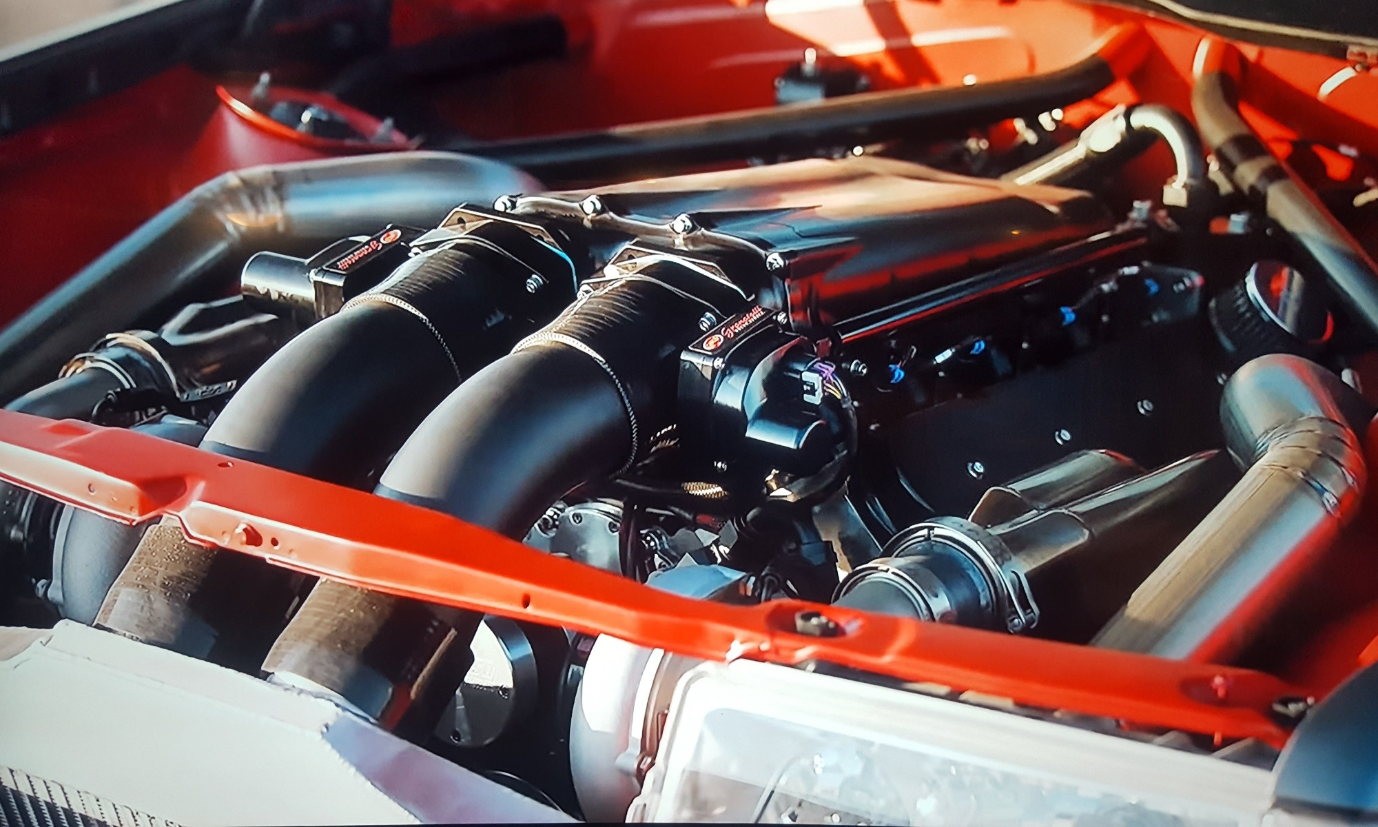 V8TT Mercedes 190E Evo engine