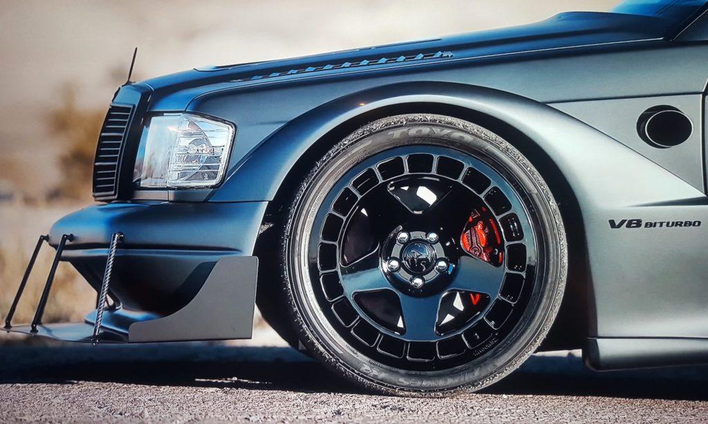 V8TT Mercedes 190E Evo front wheel