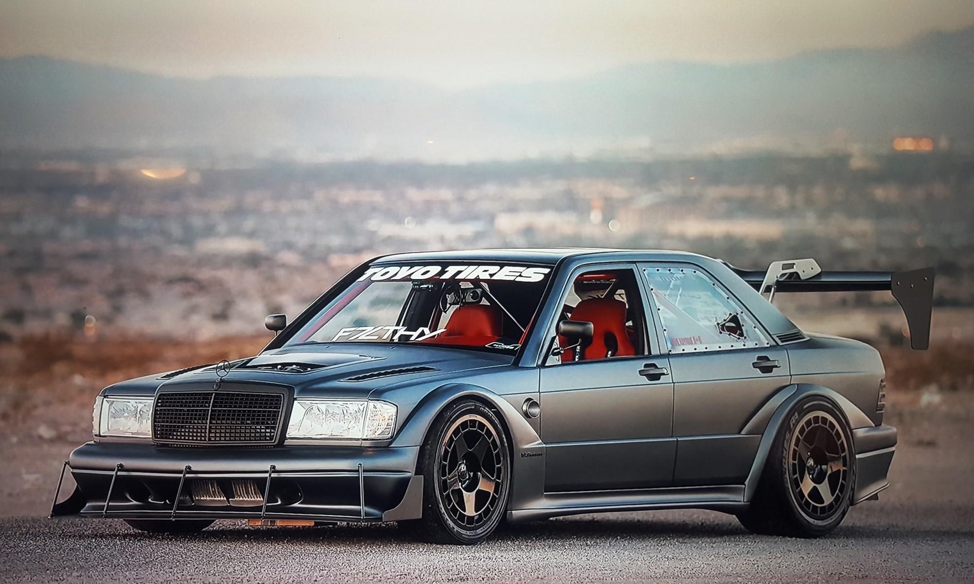 V8TT Mercedes 190E Evo