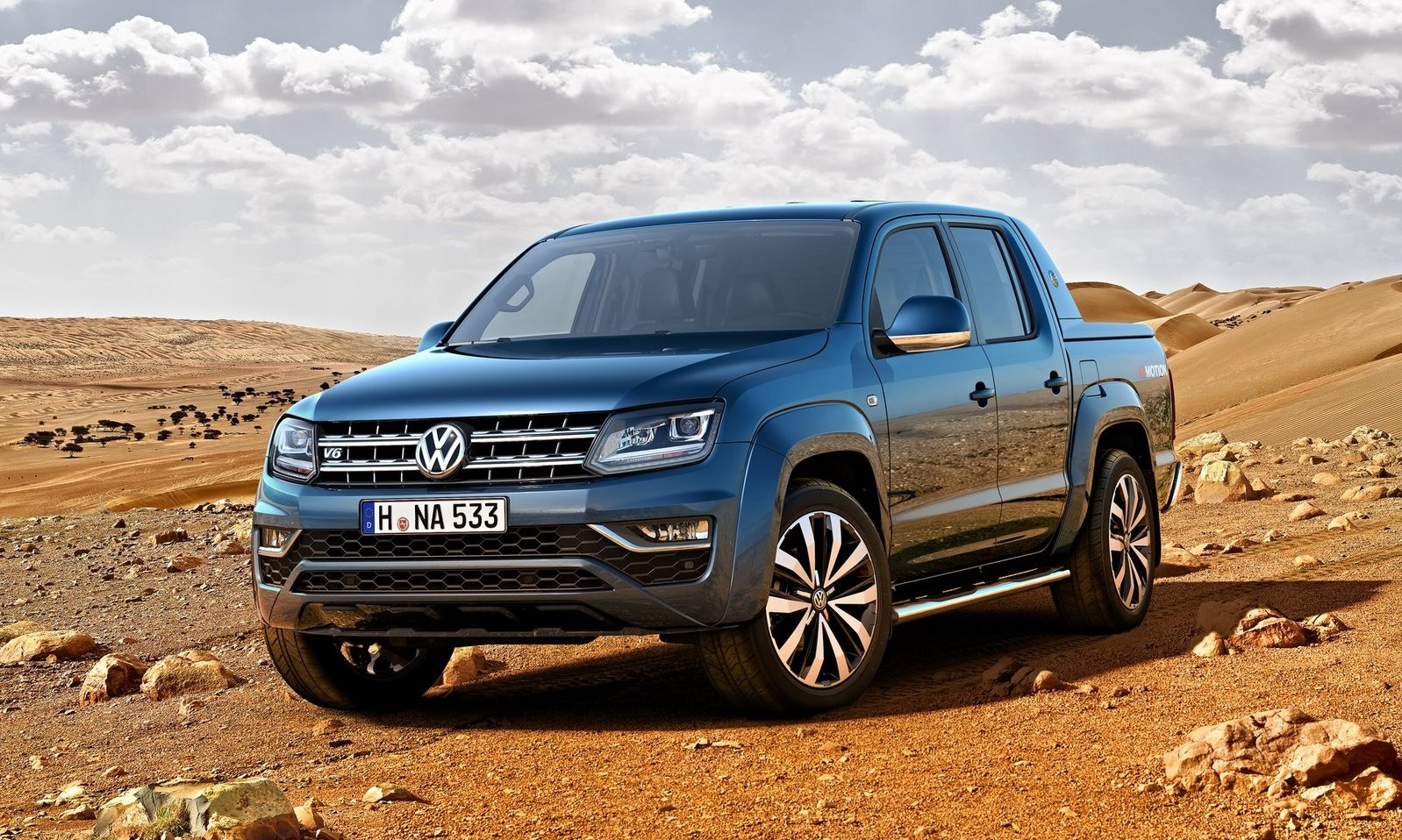 VW Amarok 3.0 V6 TDi Highline 4×4 Double Cab
