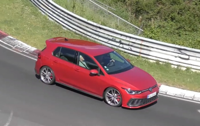 VW Mk8 GTI Clubsport Spotted Testing