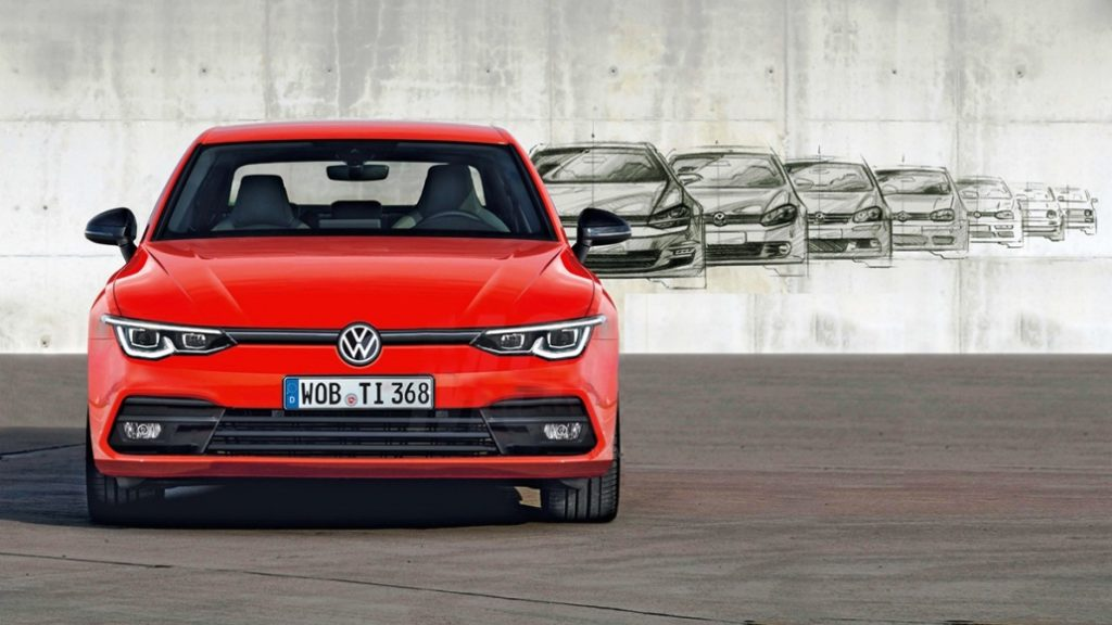 VW Golf 8 Images Leaked