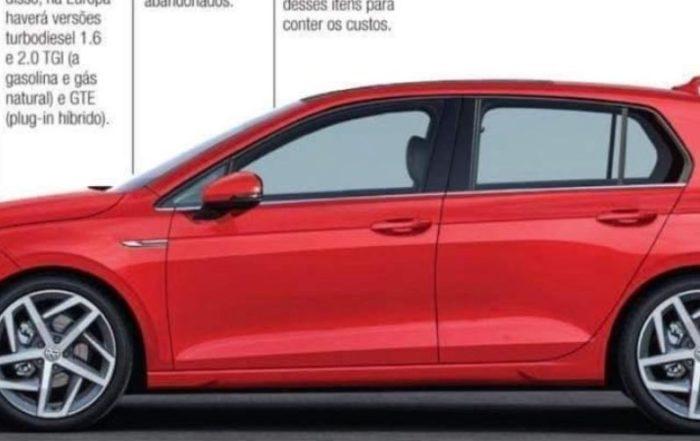 VW Golf 8 Images Leaked 2