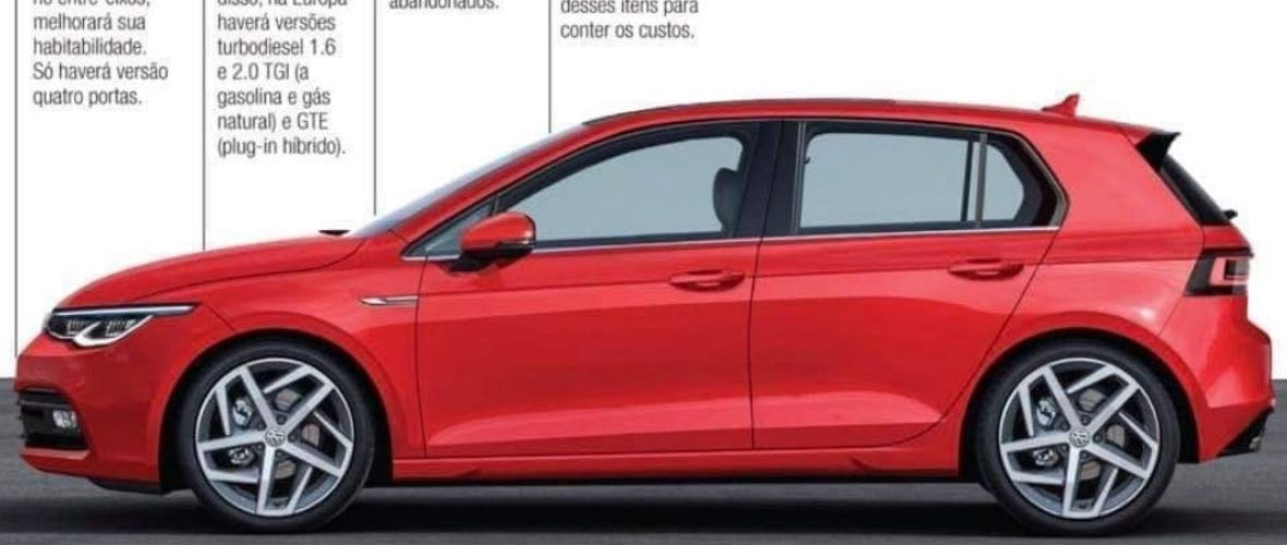 vw golf 8 images leaked onto the internet this week