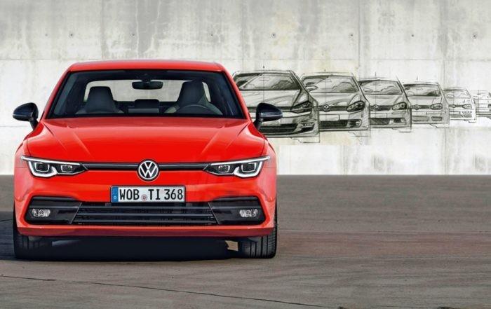 VW Golf 8 Images Leaked