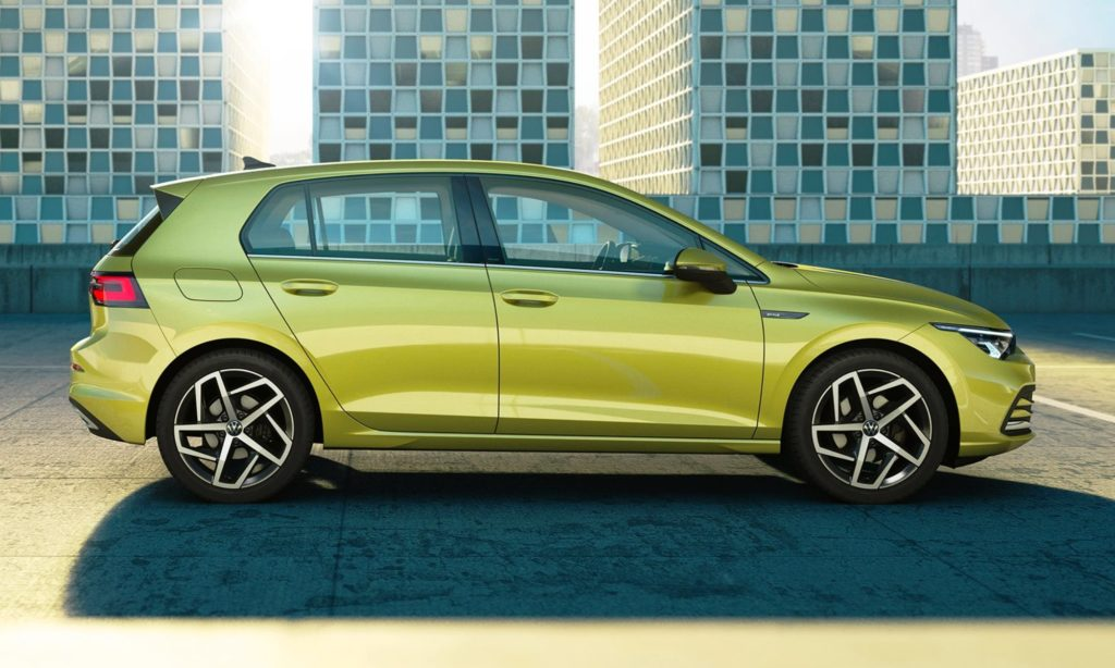 VW Golf 8 profile