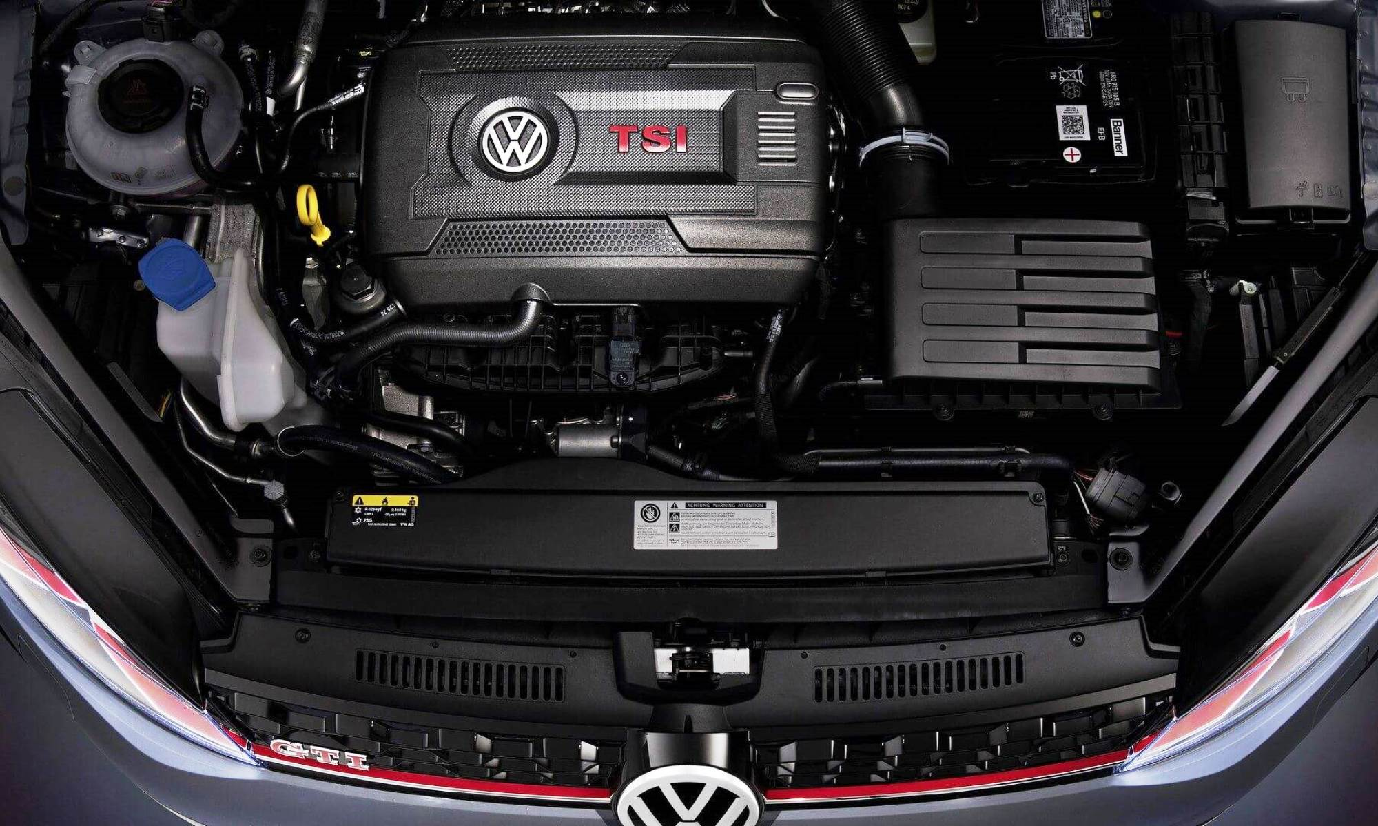 VW Golf GTI TCR engine
