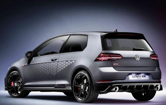 VW Golf GTI TCR rear