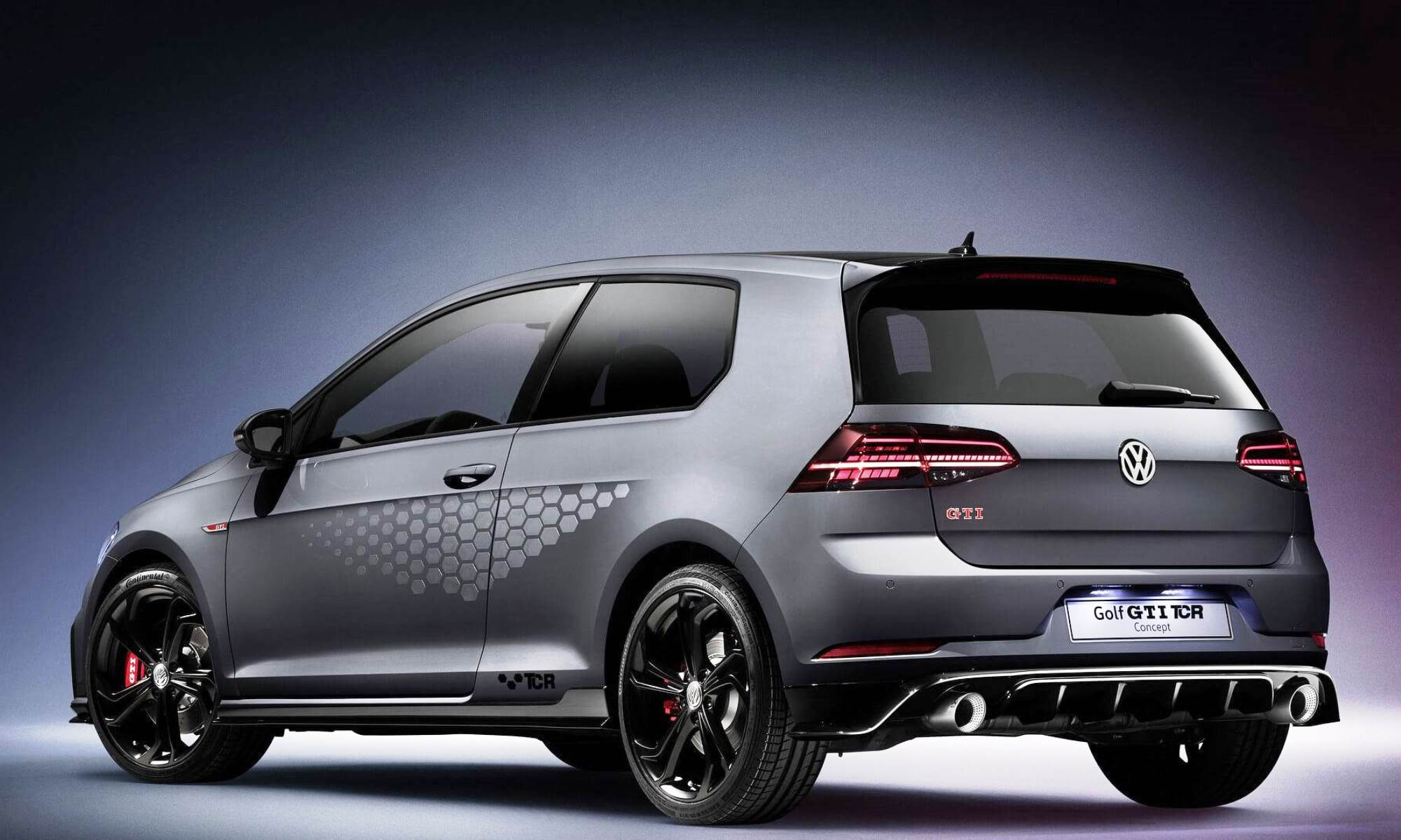 VW Golf GTI TCR rear