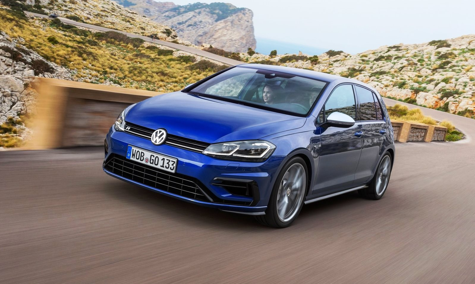 VW Golf VII R DSG (2017) - Double Apex