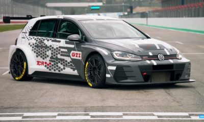 VW Golf TCR racecar