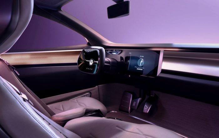 VW ID Roomzz Concept rear interior